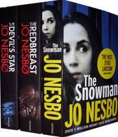 Jo Nesbo Collection: The Redbreast, The Snowman, The Devil's Star