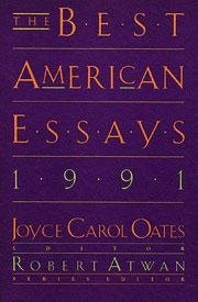 The Best American Essays 1991 Best American Essays