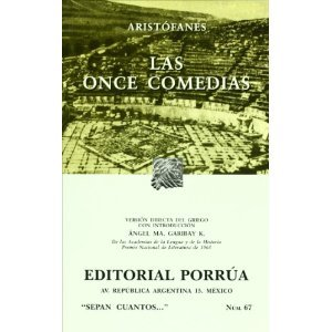 Las Once Comedias by Aristophanes