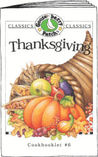 Thanksgiving Cookbook (Classic Cookbooklets) by Gooseberry Patch
