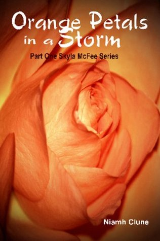 Orange Petals in a Storm by Niamh Clune