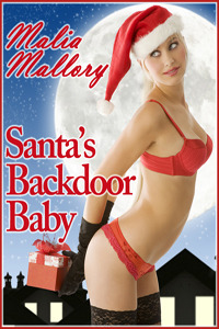 Santa's Backdoor Baby by Malia Mallory