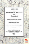 Memoirs/Principal Events In Campaigns Of