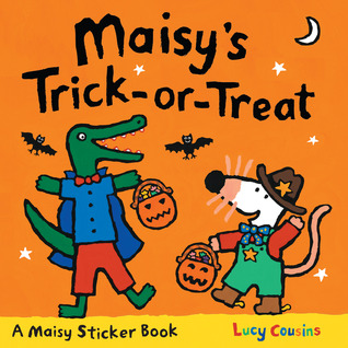 Maisy's Trick-or-Treat Sticker Book by Lucy Cousins
