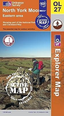 North York Moors - Eastern Area by Ordnance Survey
