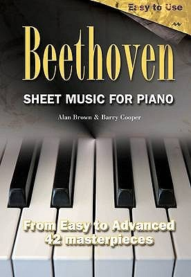 Sheet Music for Piano by Alan Brown