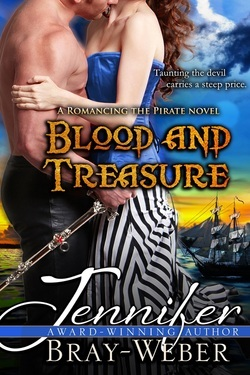 Blood and Treasure (Romancing the Pirate, #1)