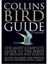 Collins Bird Guide by Killian Mullarney