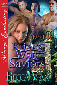 Keira's Wolf Saviors (Pack Law #2)