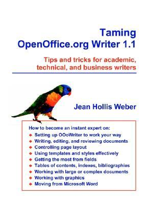 Taming Open Office.Org Writer 1.1