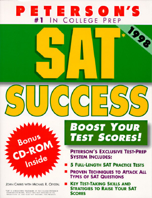 Peterson's Sat Success (Book and CD Rom)