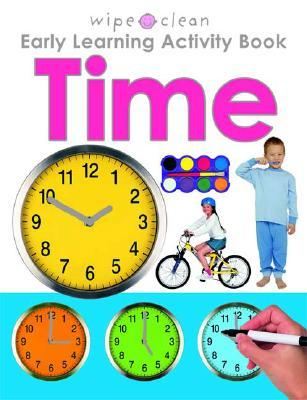 Wipe Clean Early Learning Activity Book - Time