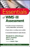 Essentials Of Wms Iii Assessment