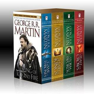 A Song of Ice and Fire #1-4 by George R.R. Martin