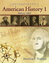 American History 1 (Before 1865) - Softcover Student Text Only
