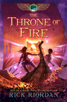 The Throne of Fire (Kane Chronicles, #2)