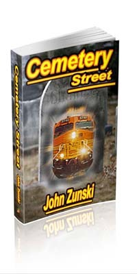 Cemetery Street by John Zunski