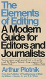 The Elements of Editing by Arthur Plotnick