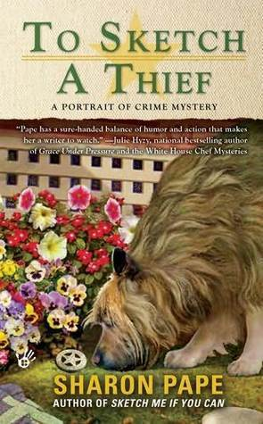 To Sketch a Thief (A Portrait of Crime Mystery, #2)