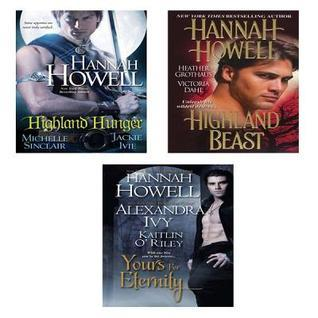 Highland Hunger Bundle with Yours for Eternity & Highland Beast by Hannah Howell