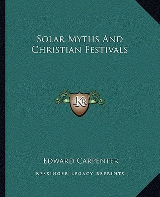 Solar Myths And Christian Festivals