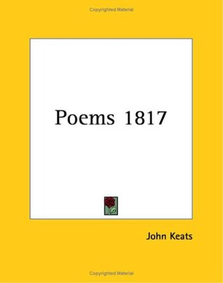 Poems 1817 by John Keats