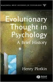 Evolutionary Thought in Psychology: A Brief History