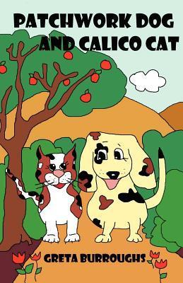 Patchwork Dog and Calico Cat by Greta Burroughs