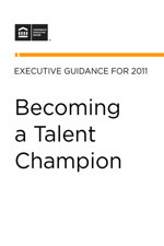 Becoming a Talent Champion: Refocusing Executives on the Five Talent Activities That Matter