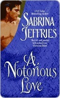 A Notorious Love by Sabrina Jeffries