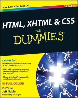 HTML, XHTML & CSS For Dummies (For Dummies by Ed Tittel
