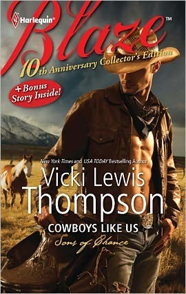 Cowboys Like Us by Vicki Lewis Thompson