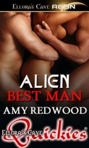 Alien Best Man by Amy Redwood