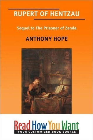 Rupert of Hentzau by Anthony Hope