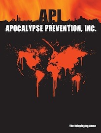 Apocalypse Prevention, Inc. Roleplaying Game by Eloy Lasanta