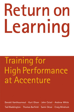 Return on Learning by Donald Vanthournout