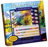 Watercolor Painting Kit: Professional materials and step-by-step instruction for the aspiring artist