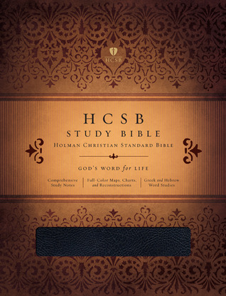 HCSB Study Bible, Black Genuine Leather Indexed by Holman Bible Publisher