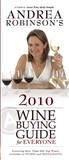 Andrea Robinson's 2010 Wine Buying Guide for Everyone