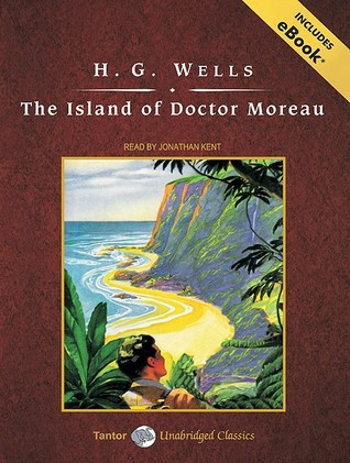 The Island of Doctor Moreau, with eBook by H.G. Wells