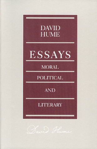 Hume essays moral political and literary