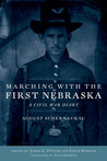 Marching with the First Nebraska by August Scherneckau