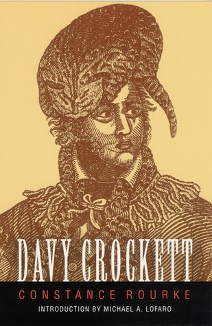 cover Davy Crockett by Constance Rourke
