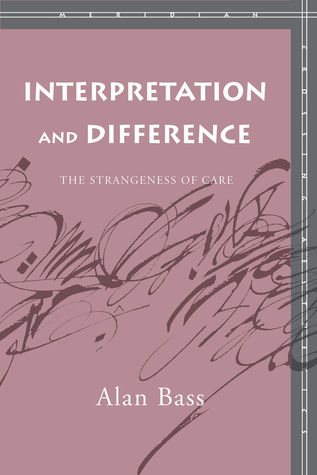 Interpretation and Difference by Alan Bass