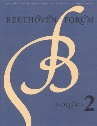 Beethoven Forum, Volume 2