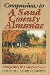 Companion to A Sand County Almanac: Interpretive and Critical Essays