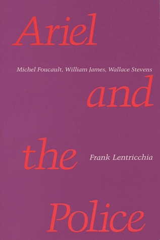 Free online download Ariel and the Police by Frank Lentricchia ePub
