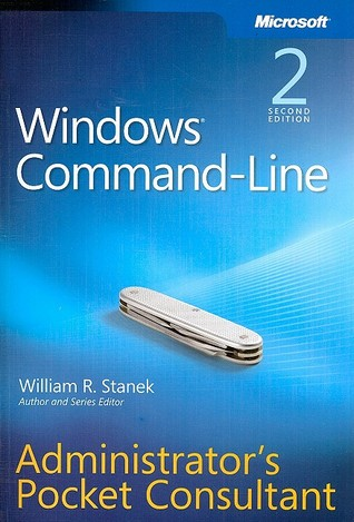 Windows command line administrators pocket consultant by for Window quotes goodreads