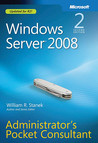 Windows Server® 2008 Administrators Pocket Consultant