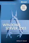 Microsoft Windows Server 2003 Administrator's Pocket Consultant